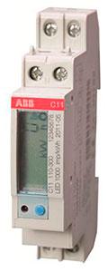 Однофазный счетчик C11 электроэнергии, производства АББ