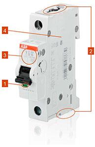 Автоматический выключатель АББ серии S200