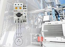 Автоматический выключатель PKE EATON для защиты электродвигателей