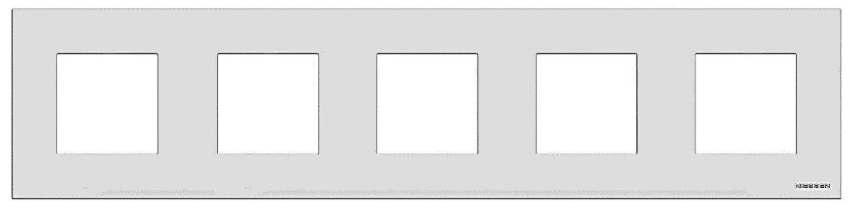 5-постовые рамки АВВ Zenit