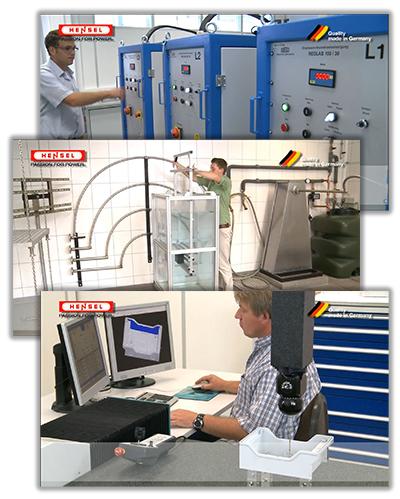 Контроль качества продукции Hensel